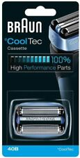 BRAUN Cooltec Replacement CASSETTE FOIL & CUTTER Head 40B Electric Shaver RRP£35