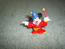 "VTG RARE 70s Applause Disney Fantasia Mickey Mouse PVC figure 2"" HONG KONG"