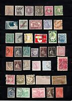Portugal stamps, small collection of 40 classics, mostly used, SCV $126.95