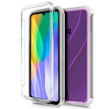Hülle Vollständig Transparent PC+TPU Voll Body 360 Für Huawei Y6p