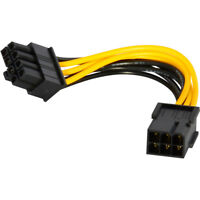 6-Pin To8-Pin Pci Express Power Converter Cable For Gpu Video Card Pcie Pci-E~RK