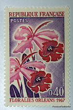 Yt 1528 FLORALIES D ORLEANS 1967    TIMBRE NEUF **  LUXE FRANCE  1° CHOIX