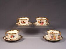 Hammersley LADY PATRICIA Gold Signed F Howard Coffee Tea Cup Saucer Set