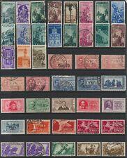 Italian Stamps - Singles - C.T. O. & Mint - Lot A-9
