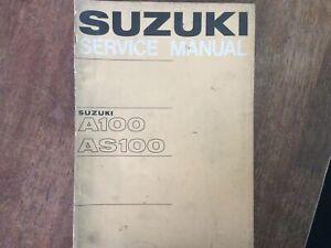Suzuki A100/AS100 Service Manual Jun. 1967