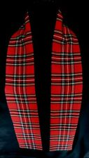 Bay City Rollers Scarf Stewart Tartan Rod Stewart Mod Scottish Fancy Dress UK