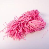 Raffia Pale Pink Fade Resistant Decorating Florists  120g Wedding #20B152