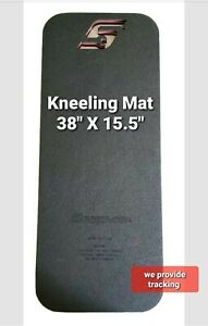 """SNAP ON kneeling pad large approx 15"""" X 38"""" comfortable working on floor NEW!!!!"""