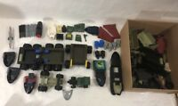 Mixed Lot of Vintage Lego- GI Joe Boat, Vehicles, Missiles & Missile Launcher +