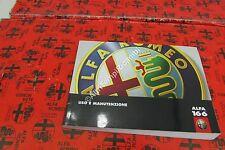 MANUALE USO E MANUTENZIONE ALFA ROMEO 166