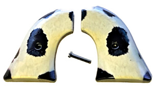Fits Heritage Arms Rough Rider GRIPS .22 & .22 MAG model Cow hide design  