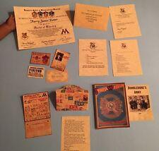 "AMERICAN GIRL/18"" DOLL SIZE PAPERCRAFT SET FOR HARRY POTTER HOGWARTS LETTER FANS"