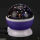 Baby Bedroom Sleep Lamp Sky Star Moon Projector Rotating Romantic Night Light
