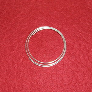 14 gauge 9999 Pure Silver Wire * 24 inch (2 foot) * 99.99% Best for Colloidal