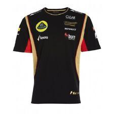 More details for t-shirt tee mens formula one 1 lotus f1 team new! burn raikkonen black 2013 l