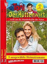 5 HEIMATROMANE * Neu * TONI DER HÜTTENWIRT Nr.56 bis 60 Friederike von Buchner
