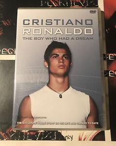 Cristiano Ronaldo The Boy Who Had A Dream - DVD 📀 Region 0 New & Sealed