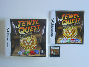 JEWEL QUEST EXPEDITIONS * NINTENDO GAME DS /WORKS ON ALL DS CONSOLES