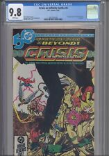 Crisis on Infinite Earths #2 CGC 9.8 1986 DC Comic 1st App Anti-Monitor in Cameo