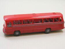 Wiking 709/4 E Mercedes Benz O 302 Autobus Aufbau hell rot
