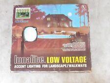 New Lunalite Low Voltage Floodlight Kit Hardware included Landscape