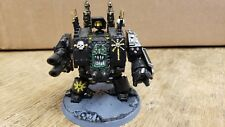 Pre-Painted - Warhammer 40k Chaos Dreadnought w/ Lascannon