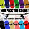 Blank Pro Maple Complete Skateboard ReadyToRide YOU PICK SIZE COLOR Skateboards