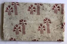 10 Yard Indian Hand Block Print Cotton Voile Fabric Sewing Material Fabric 52