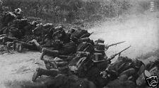 Belgium Army Infantry Soldiers Liege 1914 World War 1, 7x4 Inch Reprint Photo 1