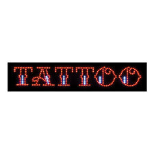 NEW Animated TATTOO Shop LED Light Neon Sign Ink Store