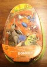 Shrek 2 Donkey Figures Set 2004. New, Still Sealed. Great Gift