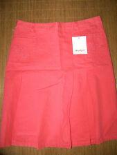 Unifarbene knielange Damenröcke im Faltenrock -/Kilt-Stil