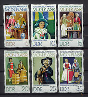 ALEMANIA/RDA EAST GERMANY 1974 MNH SC.1576/81 Arnstadt castle museum