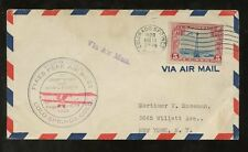 FLIGHT 1929 USA COLORADO SPRINGS AIRMAIL...PIKES PEAK AIR MEET FLYING EXHIBITION