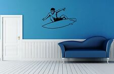 Wall Stickers Vinyl Decal Extreme Water Sports Surfing Board Wall Decor  ig020