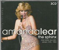 3 CD (NEU!) AMANDA LEAR - Sphinx: Best of (Follow me Queen of Chintown OVP mkmbh