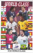 WORLD CUP 98 RONALDO ZIDANE & MORE Original Starline Poster MINI Promo Piece 3x5