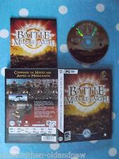 Le seigneur des anneaux ~ Battle for Middle Earth ~ PC DVD-ROM ~ Vendeur Britannique ~ rapide POSTAGE