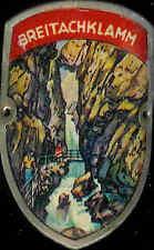 Breitachklamm used hiking medallion badge Stocknagel G1500