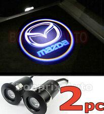 2 MAZDA LED Éclairage Porte Laser Logo Projecteur 3 6 CX-5 CX-7 9 RX-8 Premacy
