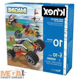 K'nex Core Beginner Fast Vehicles 10 Model Building SetKnex Construction Toy