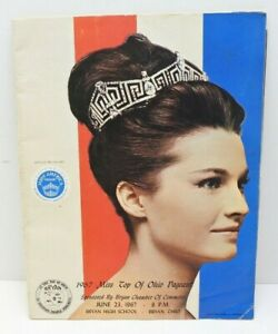 Vintage Miss Ohio Miss. USA Pageant book magazine 1967