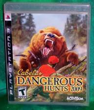 NEW SEALED SONY PLAYSTATION 3 PS3 CABELA'S DANGEROUS HUNTS 2009 VIDEO GAME