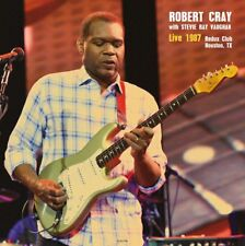 Robert Cray w/ Stevie Ray Vaughan LIVE 1987 - Import - 180g SEALED NEW! LP