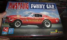 AMT PHIL BONNER WARBUCKS MUSTANG AWB FUNNY KING'S 1/25 Model Car Mountain FS AFX