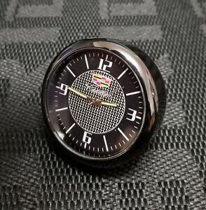 For Cadillac Car Clock Refit Interior Luminous Electronic Quartz Ornaments Gift