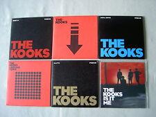 THE KOOKS job lot of 6 promo CD singles Sofa Song Ooh La Is It Me Down Naive