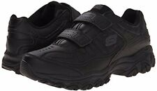 Mens Sketchers Final Cut Walking Shoes Sneakers 50121/BBK Black Size 10 New