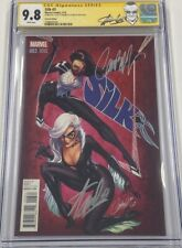 Silk #3 JSC 1:25 Variant Signed by Stan Lee & J. Scott Campbell CGC 9.8 SS