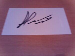 signed card of middlesbrough footballer george saville